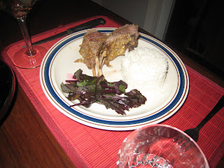 Dinner Rack of Lamb