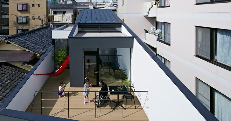 Nn house dello studio panda di kozo yamamoto a tokyo arc for Piani di casa di 1800 piedi quadrati aperti