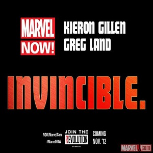 Marvel NOW Iron Man Kieron Gillen Greg Land