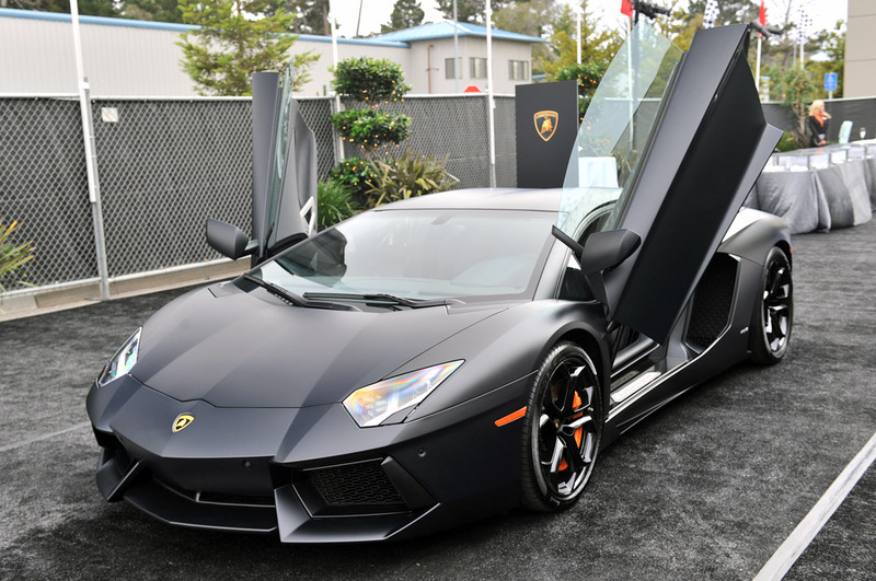 11 Lamborghini Aventador Matte Black on alfa romeo bat cars