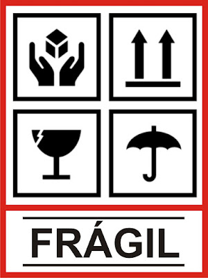 paquete fragil