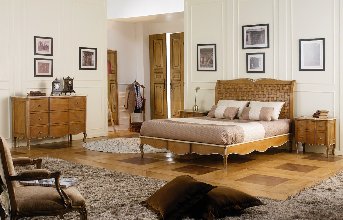Dormitorios de matrimonio con encanto for Muebles dormitorio vintage