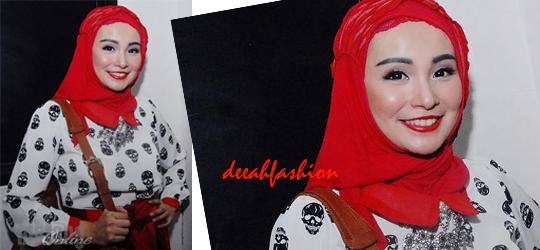 Jilbab ala Soraya Larasati Laras Hijab Style