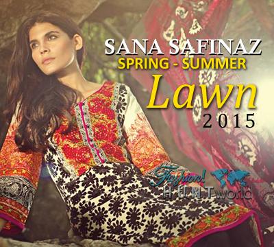 Sana Safinaz Spring-Summer Lawn 2015