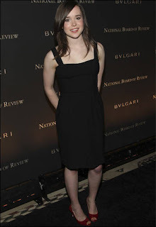 Ellen Page at the National Board of Review of Motion Pictures Annual Awards Gala<