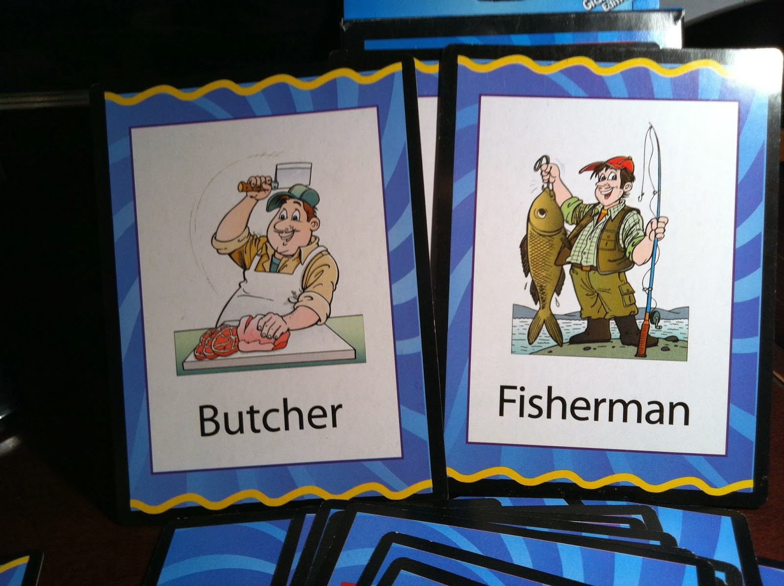 Butcher or Fisherman