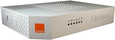 Orange Livebox Router