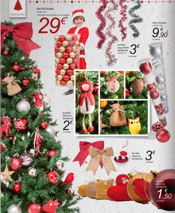 Carrefour adornos y arboles de navidad 2014 - Arbol de navidad carrefour ...