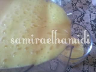 عصير بالفلان والموز رائع ومنعش
