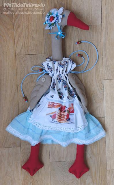 пакетница из ткани кухонный декор