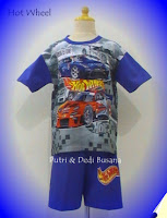 stelan anak motif hot wheel
