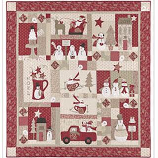 MERRY MERRY SNOWMEN Quilt Kit