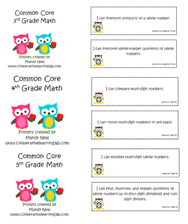 , Common Core Posters