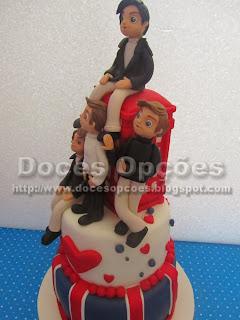 bolo aniversário 1D