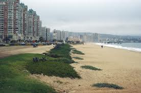 La Playa Los Marineros en Viña del Mar