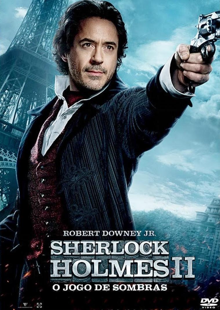 capa Download   Sherlock Holmes 2: O Jogo De Sombras RMVB Dublado