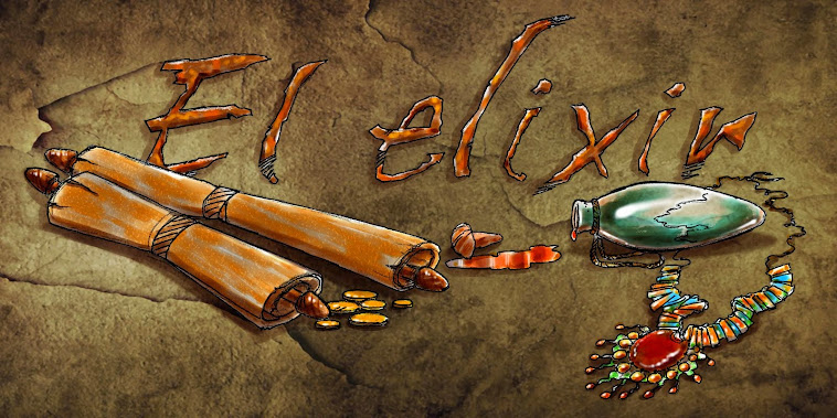 El Elixir, webcómic