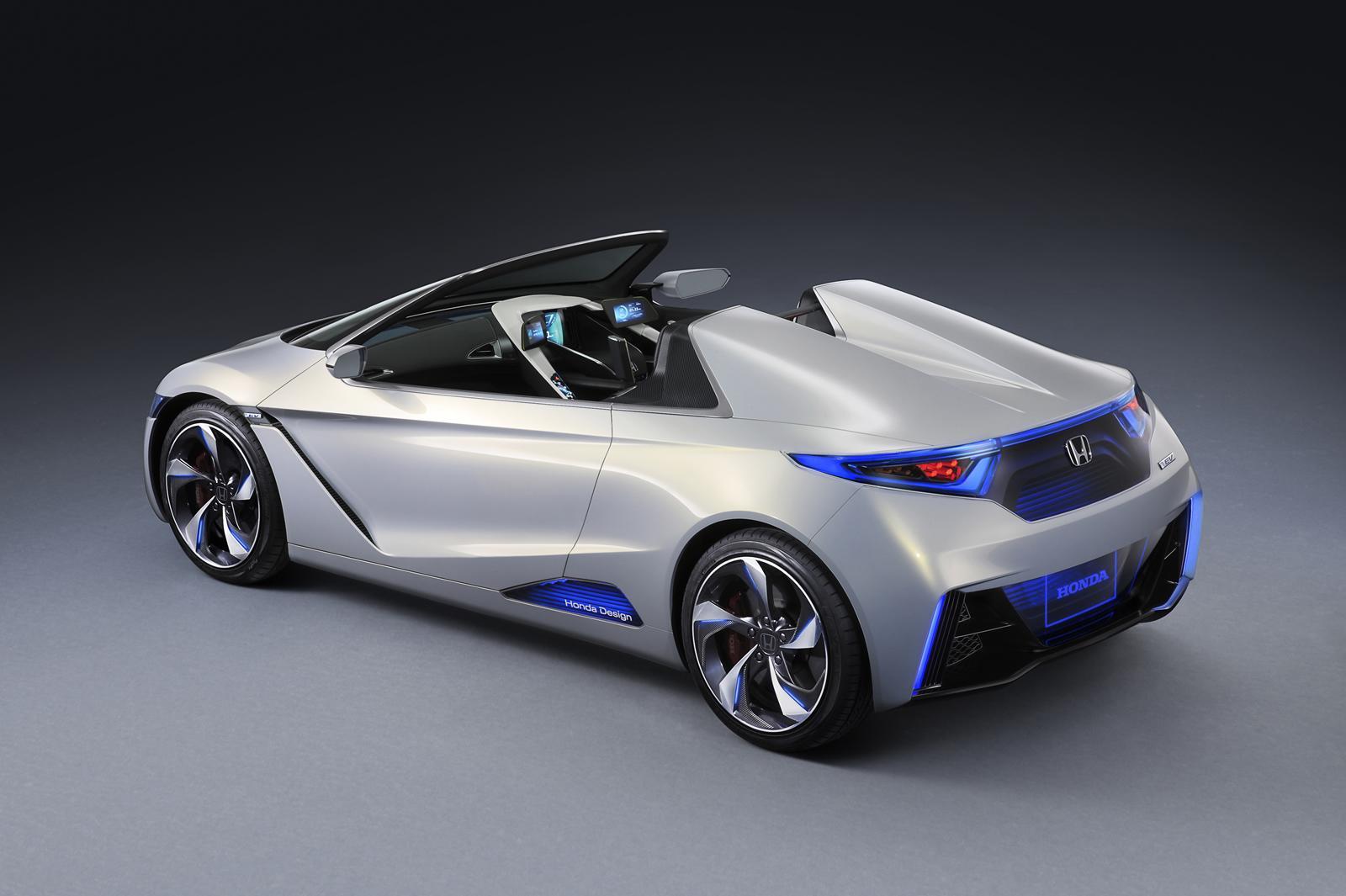 Ordinaire Honda EV STER Small Sports EV Concept Unveiled
