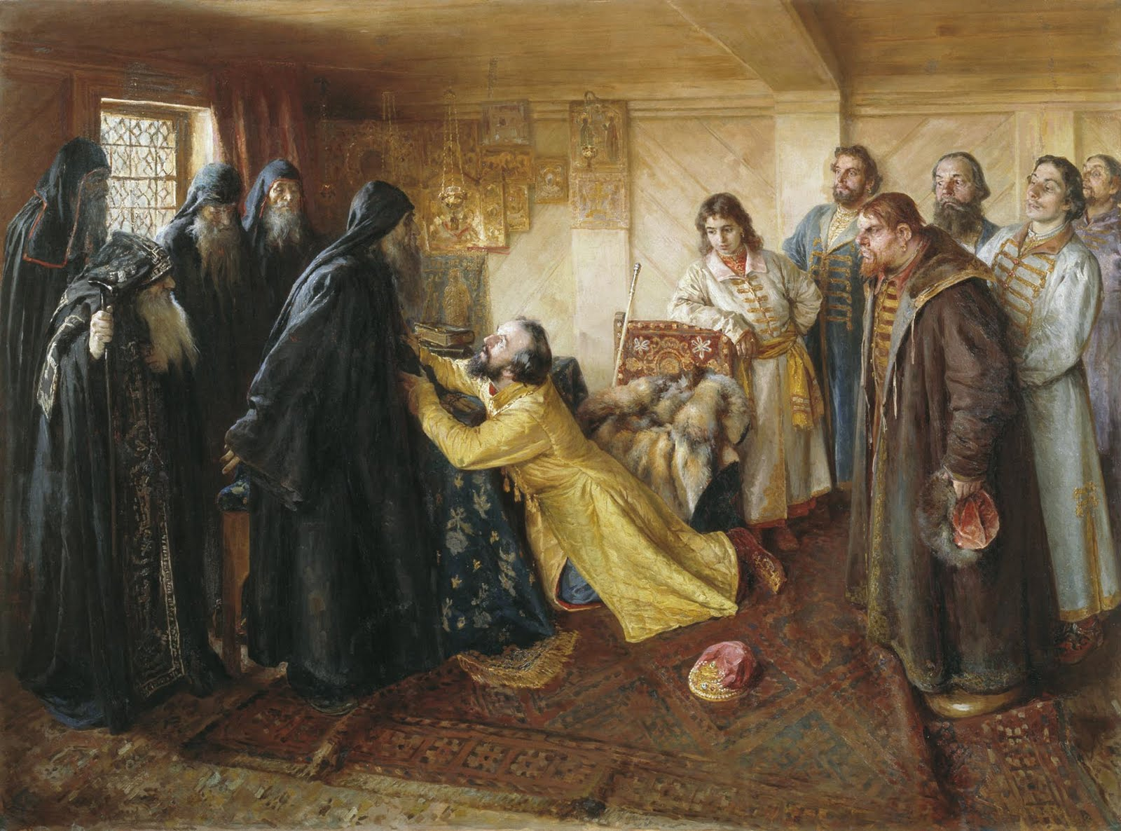 Ivan_the_Terrible_begs_to_become_a_Monk.