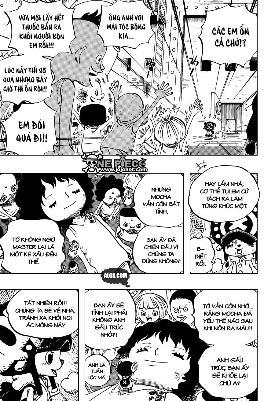 One Piece Chapter 696: Nơi lợi ích gặp gỡ 009