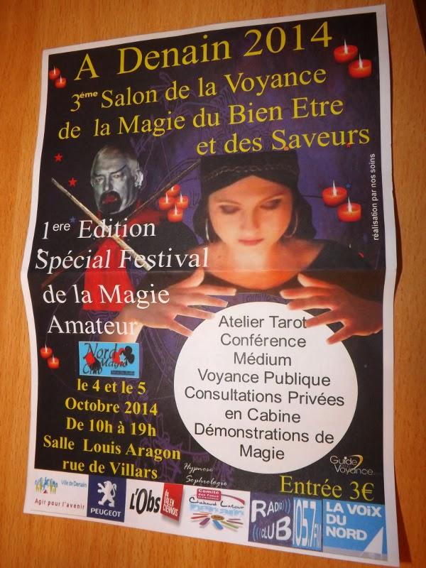 My name is or 3 me salon de la voyance et du bien tre et for Salon de la voyance