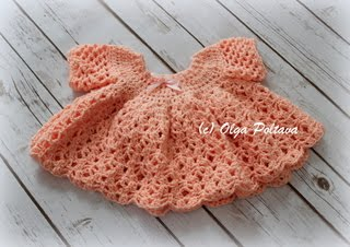 Crochet Dress Pattern, $3.69
