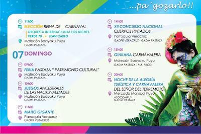 Programa completo carnaval en Puyo 2016