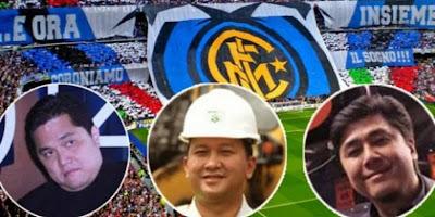 Trio pengusaha asal Indonesia yakni Erick Thohir, Rosan Roeslani, dan Handy Soetedjo, diumumkan secara resmi sebagai pemilik baru Inter Milan