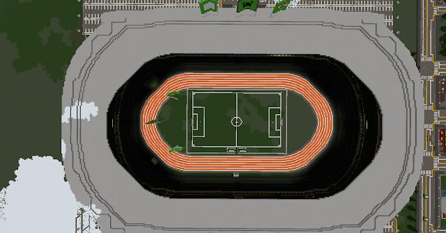 Minecraft Stadium  - Minecraft Metropolis