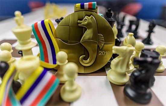 Le prix spécial pour le vainqueur du Masters - Photo © Alina L'Ami