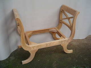 Klasik furniture wooden frame klasik stool supplier pug mahoni mentah stool klasik pug klasik ukir jepara