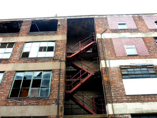 antiguas fábricas de Manchester