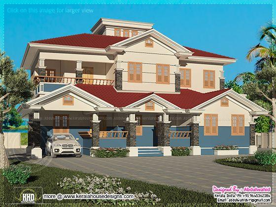2500 square feet villa