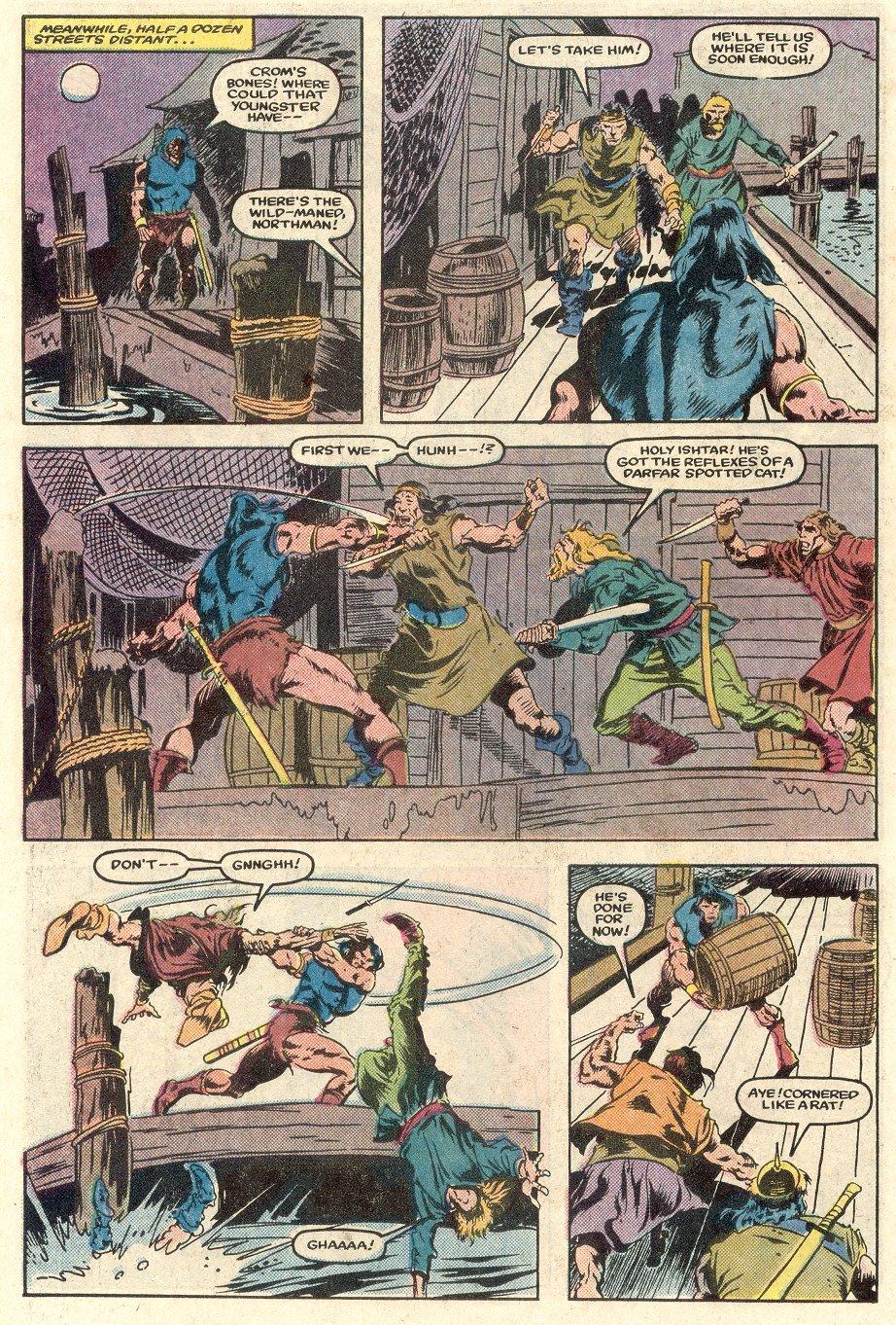 Conan the Barbarian (1970) Issue #165 #177 - English 11