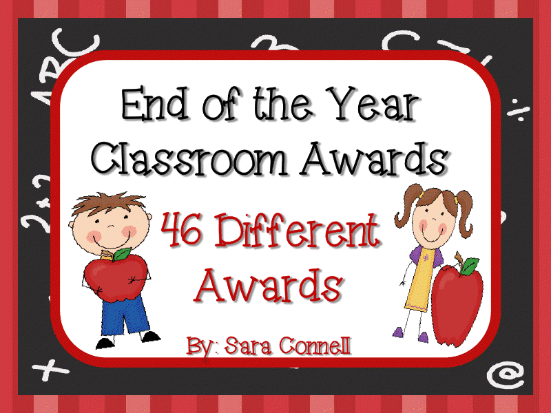 Classroom Ideas Awards ~ First grade funtastic end of the year classroom awards