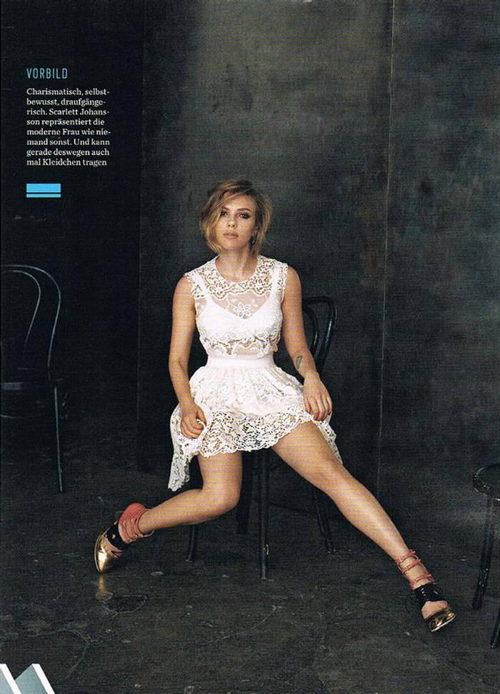 Fashion: Scarlett Johansson GQ 2011 photoshoot