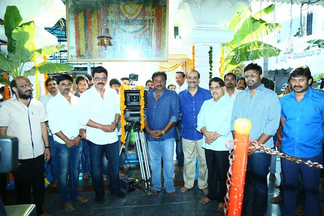 S.RADHAKRISHNA PRESENTS  SITHARA ENERTAINMENTS  Cast & Crew  1. Victory Venkatesh  2. Nayanathara  3. Brahmanandam  5. Vennela Kishore  6. Munna Venu  9. Murali Sharma  11. Jaya prakash  Technicians  Editor - S.B.Uddhav  Art Director - Ramana Vanka  D.O.P - Vivek Anand  Music - Ghibran  Producer - Suryadevara Naga Vamsi  Direction - Maruthi