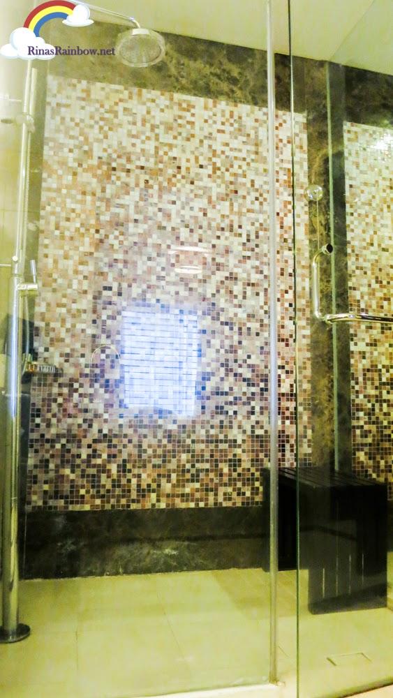 steam bath and shower
