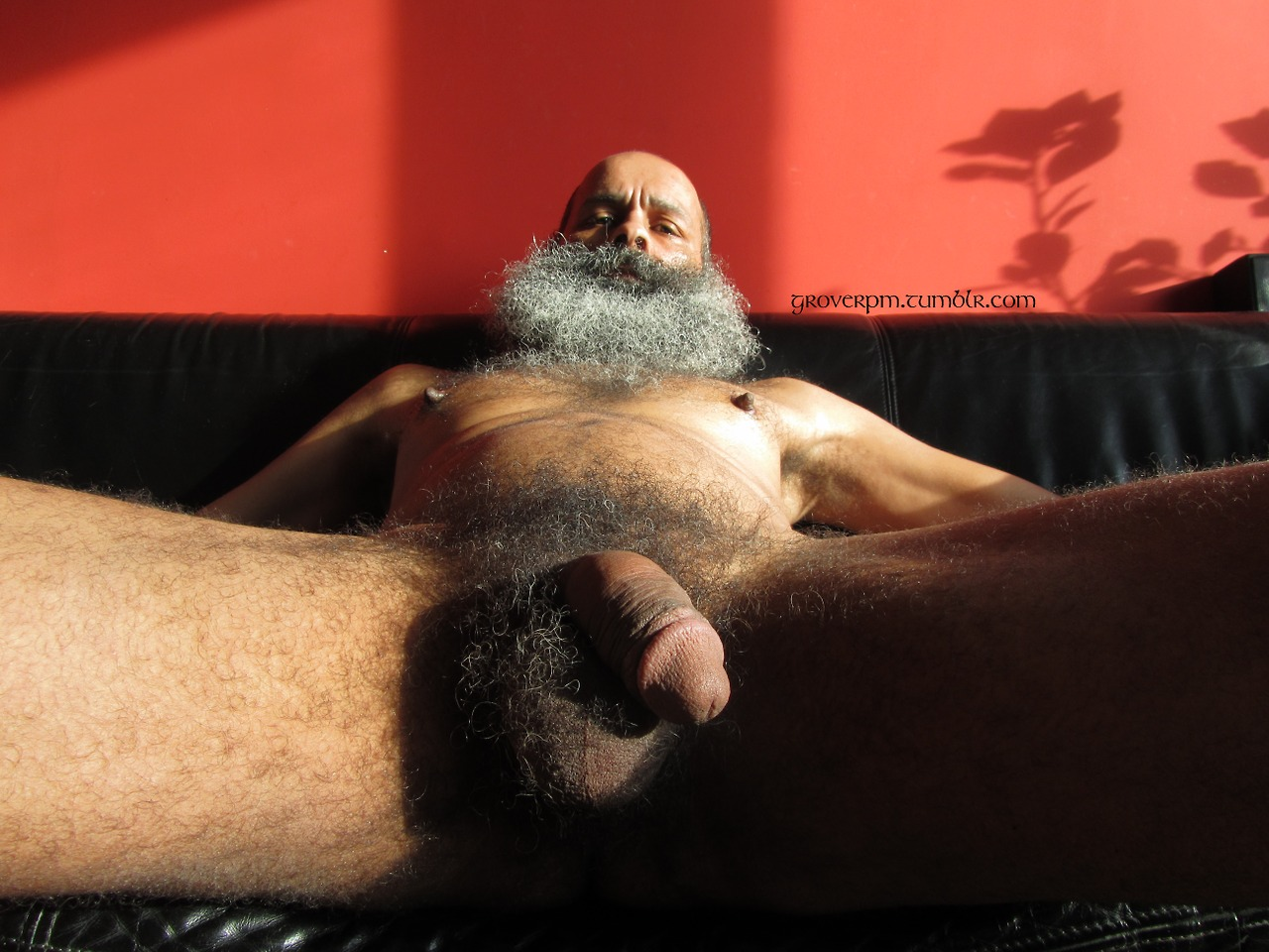 Mature black nude men
