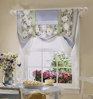 Cortinas de Cocina   Ideas para decorar, diseñar y mejorar tu casa.