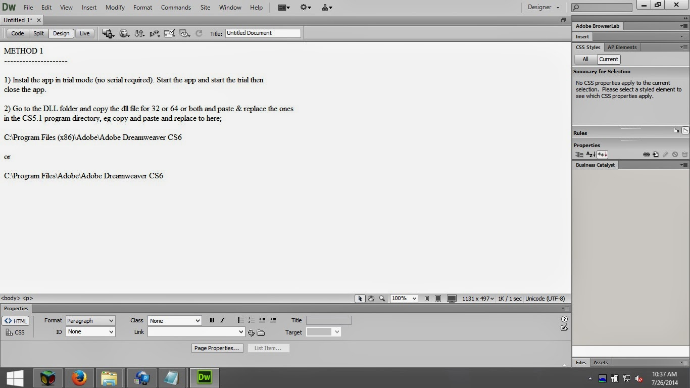 how to build mobile apps with dreamweaver cs6
