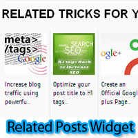 Related Posts Blogger Widget and LinkedWithIn for Blogger