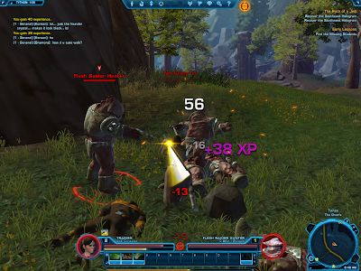 SWTOR - Jedi Consular Force Usage