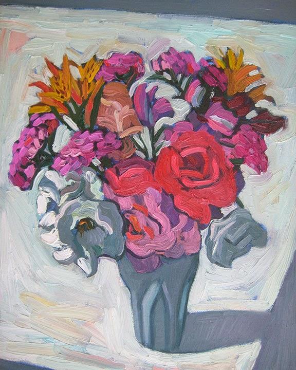Jan's Bouquet by Char Fitzpatrick
