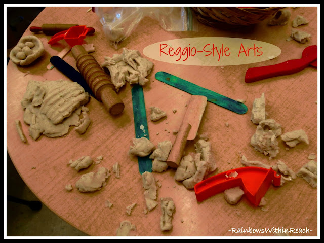 Reggio-Classroom using Clay