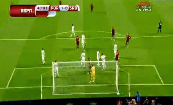 اهداف مبارة البرتغال و صربيا فى التصفيات المؤهلة ليورو 2016