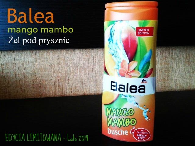 Żel pod prysznic Balea - Mango Mambo