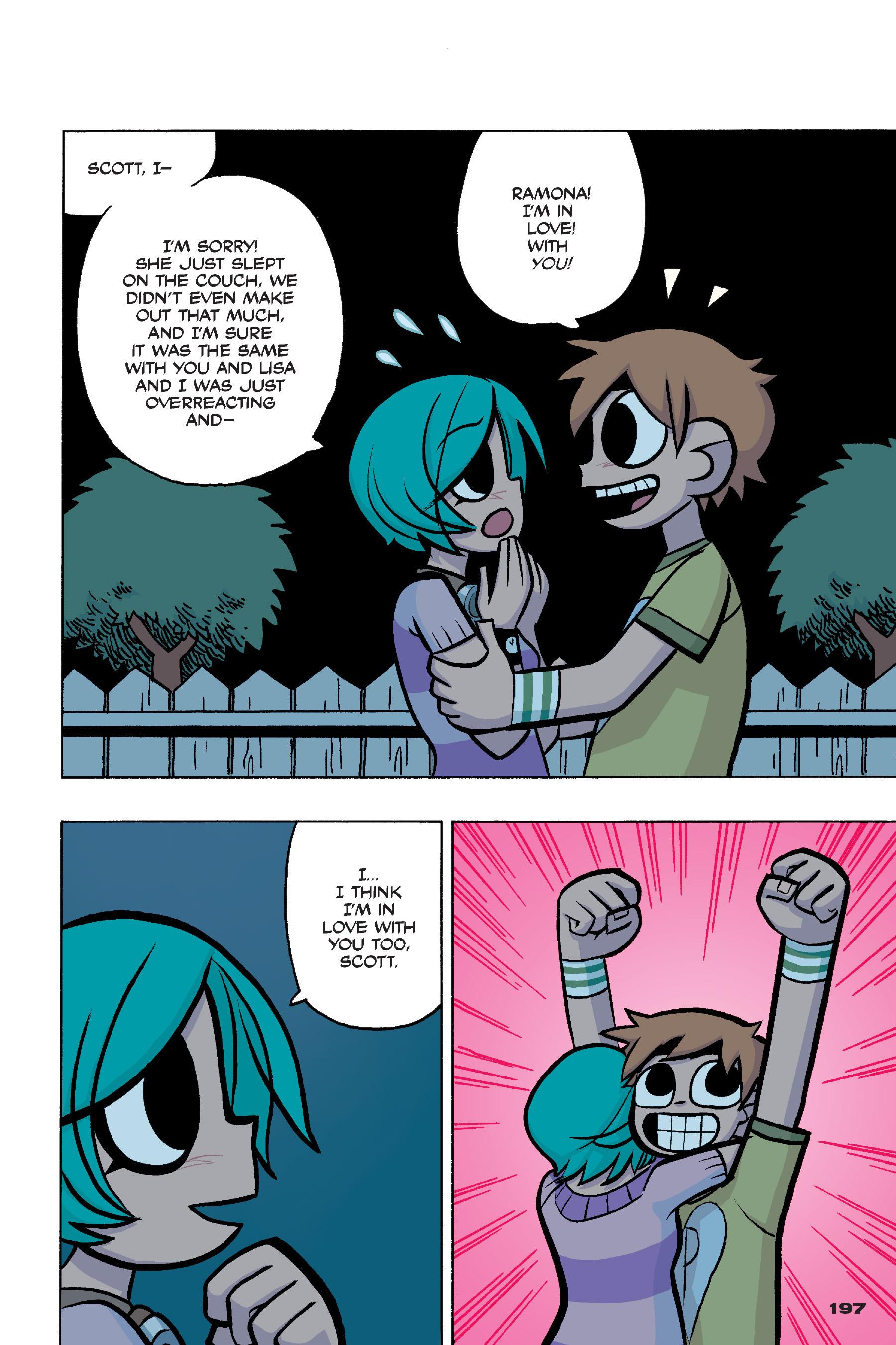 Read online Scott Pilgrim comic -  Issue #4 - 193