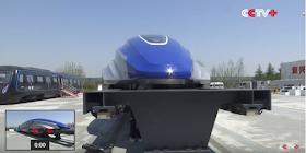 El tren chino de alta velocidad por levitación magnética que alcanza los 600 km/h