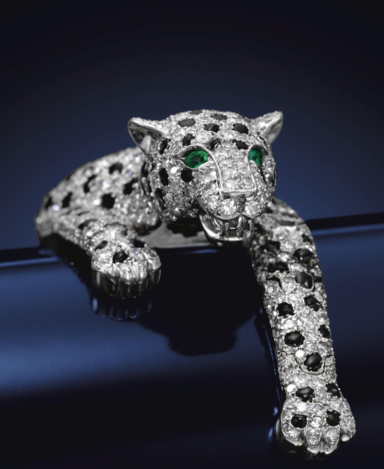 The Duchess of Windsor's Panther Bracelet, 1952. Photo © Sothebys